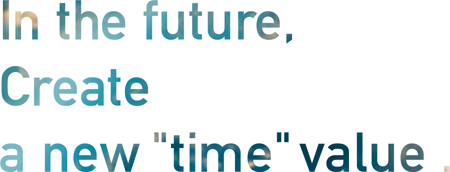 In the future, Create a new time value.